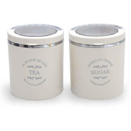 Jaypee Plus Classique 2 - 750 ml Plastic Tea Coffee & Sugar Container(Pack of 2, Beige)