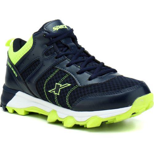 Sparx Men SM-319 Navy Blue Fluorescent Green Running Shoes For Men(Navy, Green)