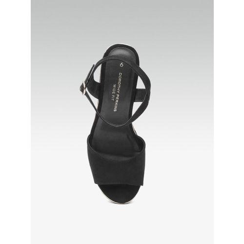 DOROTHY PERKINS Women Black Solid Block Heels
