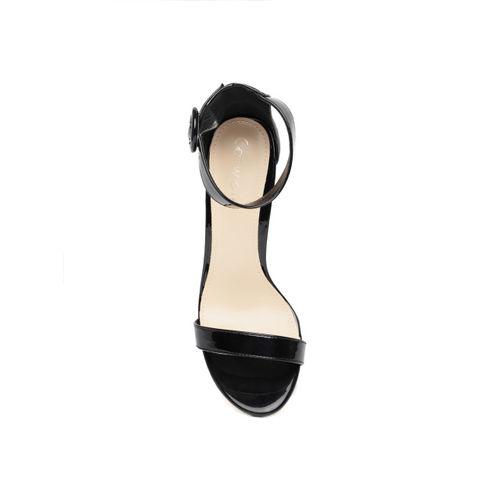 Catwalk Women Black Solid Mid-Top Heels