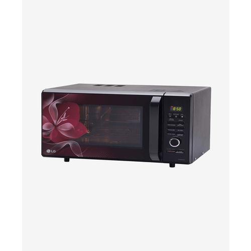 LG MJ2886BWUM 28L Convection Microwave Oven (Floral)