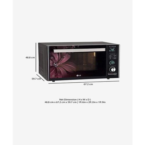 LG MJ3286BRUS 32L Convection Microwave Oven (Black)