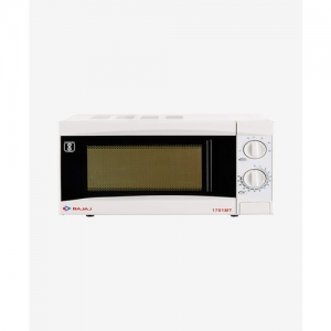 Bajaj 1701 MT 17L Solo Microwave Oven (White)