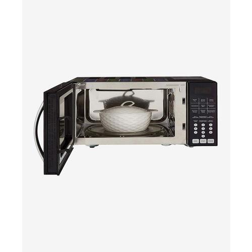 Godrej GME 725 CF2 PZ 25L Convection Microwave Oven (Purple Petals)
