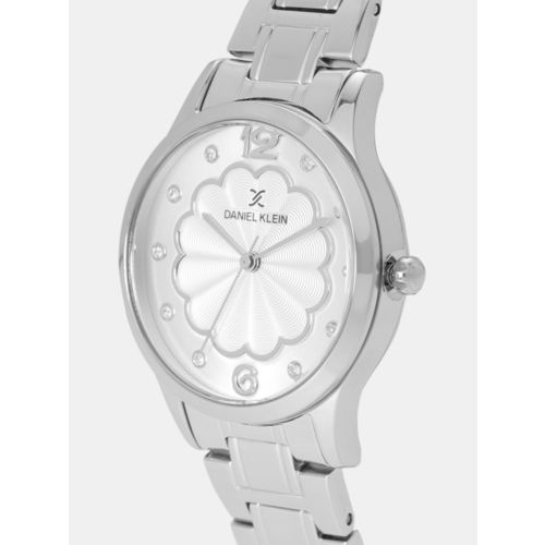 Daniel Klein Premium Women Silver-Toned Analogue Watch DK11990-1