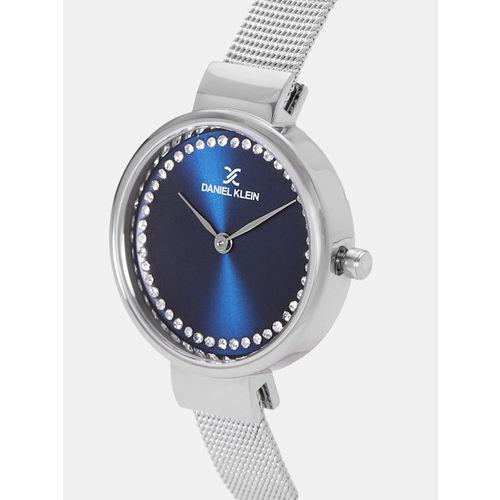 Daniel Klein Women Navy Blue Analogue Watch DK11943