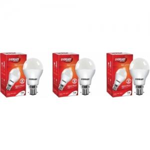 Eveready 7 W Standard B22 LED Bulb(White, Pack of 3)