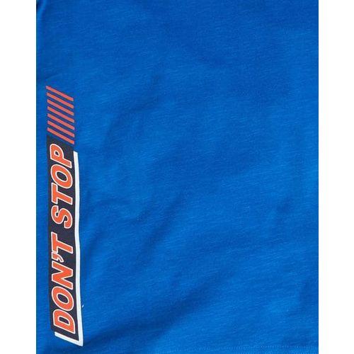 YB DNMX Typographic Print Crew-Neck T-shirt