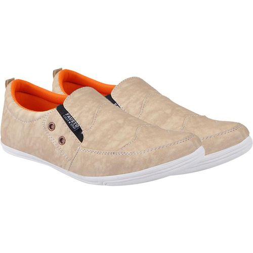 FAUSTO Stylish Sneakers For Men(Beige)