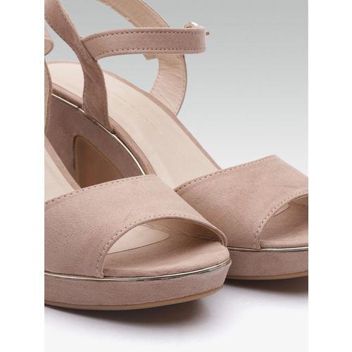 DOROTHY PERKINS Women Dusty Pink Solid Block Heels