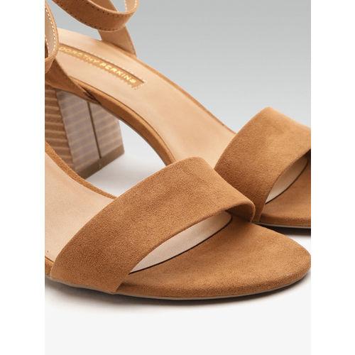 DOROTHY PERKINS Women Brown Solid Block Heels