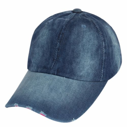 ILU Plain Denim cap Baseball cap Sport cap Caps for Men Women Woman Man Girls Boys