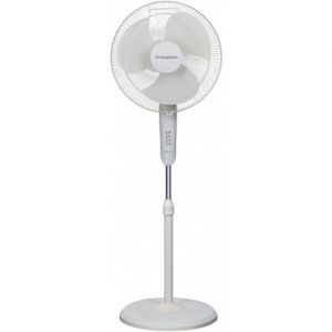 Crompton rave air 3 Blade Pedestal Fan(opal white, Pack of 1)