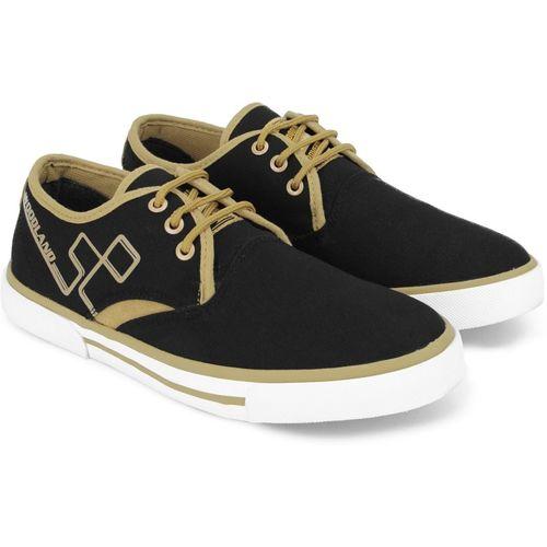 Buy Woodland Canvas Shoe For Men(Black
