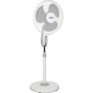 Luminous Mojo 3 Blade Adjustable Pedestal Fan - White