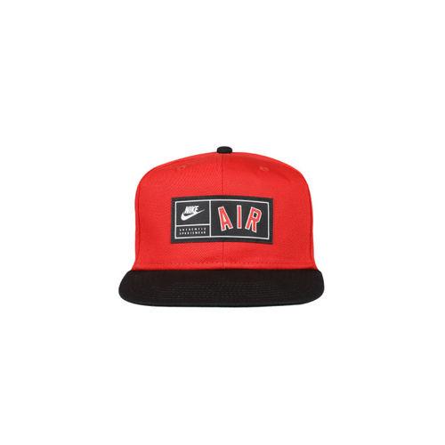 Nike Unisex Red Solid Baseball Cap