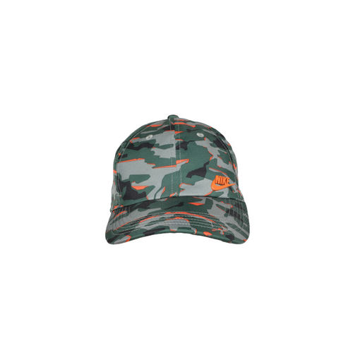 Nike Unisex Green Printed Baseball Cap 942212-323