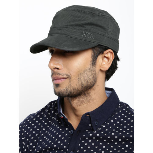 HRX by Hrithik Roshan Men Charcoal Grey Cap