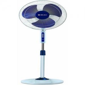 Bajaj NEO SPECTRUM HIGH SPEED 2100RPM 3 Blade Pedestal Fan(BLUE, Pack of 1)