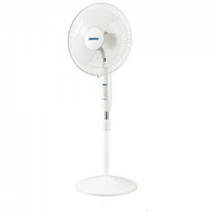 Luminous Speed Max HS 400mm 3 Blade Pedestal Fan(White, Pack of 1)