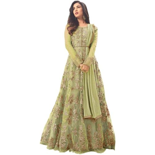 Veehaus Anarkali Gown(Green)
