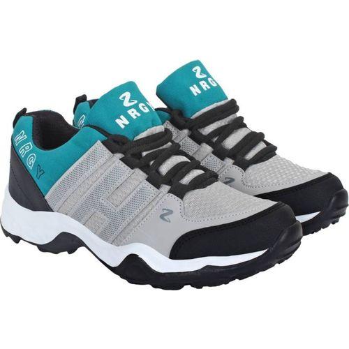 Aero Go Run Running Shoes For Men(Black, Grey)