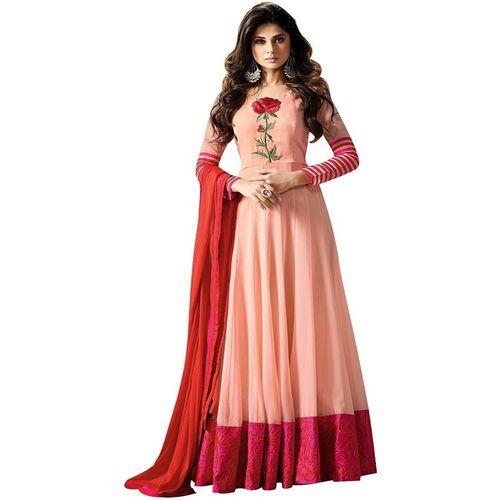 DD's creation Anarkali Gown(Pink)