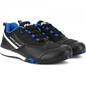 Fila Supercharge Low Motorsport Shoes For Men(Black)