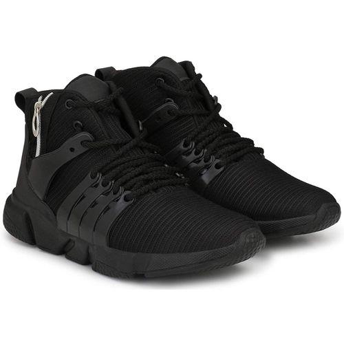 Shoe Island Running Shoes For Men(Black)