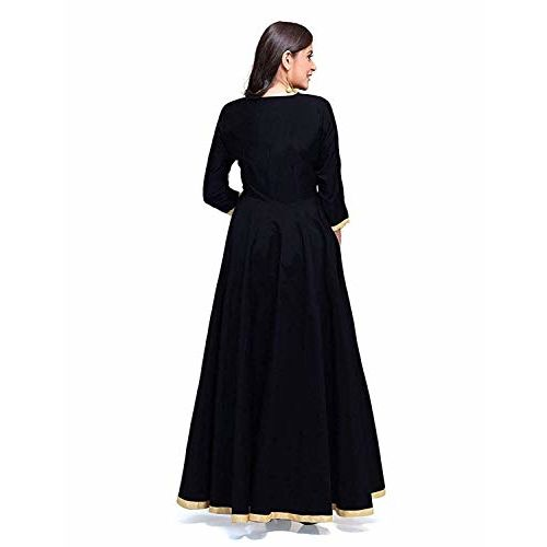 Saptarangi Womens Taffeta Silk Dress Material