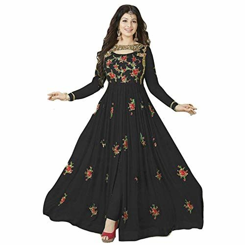 Admiriya Black Georgette Gown