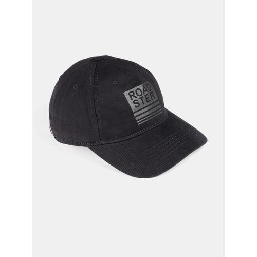 5084b0bcff33e7 Buy Roadster Unisex Black Printed Baseball Cap online | Looksgud.in