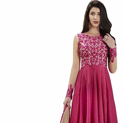 Style Amaze PinkGeorgette Gown