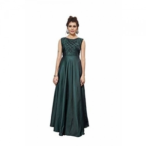 Rudra Zone Green gowns for women