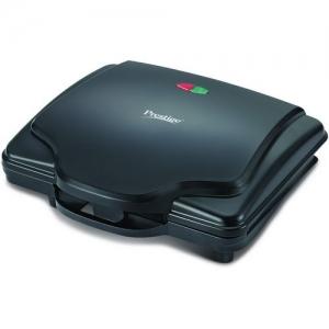 Prestige PSMFH 700-Watt Sandwich Toaster with Fixed Sandwich Plates (Black)