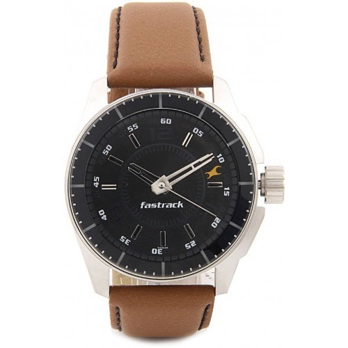 Fastrack NG3089SL05C Black Dial Analog Watch