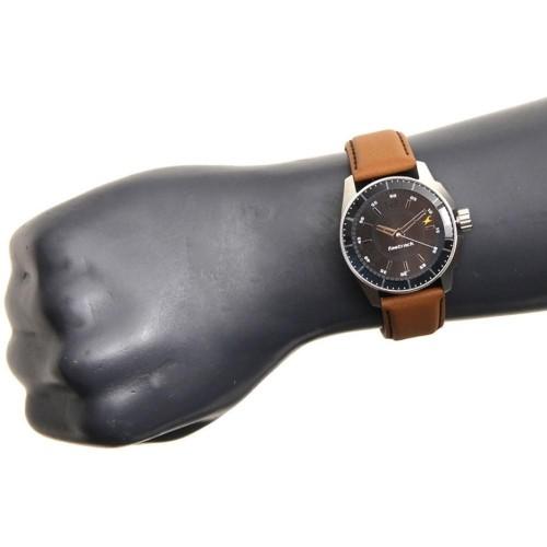 Fastrack NG3089SL05C Black Dial Analog Watch
