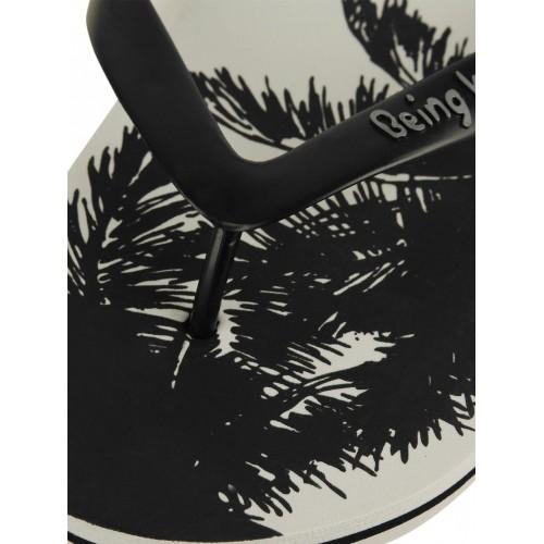 57edcf5c320e Buy Being Human Palm Printed Flip Flops online