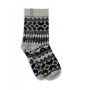 Being Human  Native Print Mid Socks