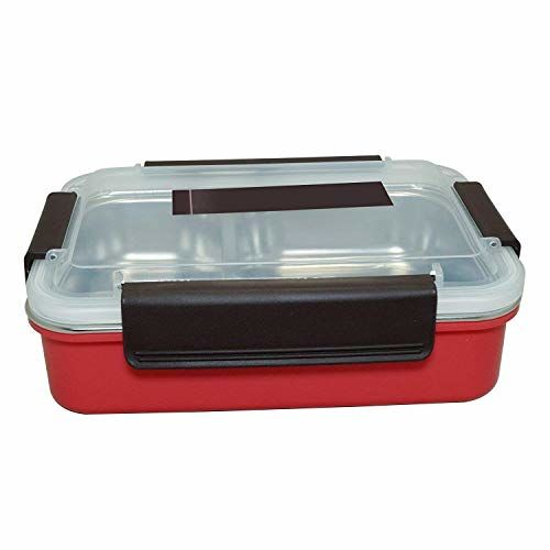 Tuelip Stainless Steel Lunch Box for Office, College & School Going Kids Girls & Boys (Color Assorted) 750ML