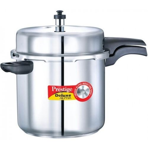 Prestige 10 L Induction Bottom Pressure Cooker(Stainless Steel)