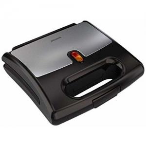 (Renewed) Philips HD2389/00 700-Watt Sandwich Maker (Black)
