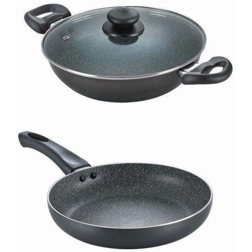 Prestige granite set Induction Bottom Cookware Set(Aluminium, 3 - Piece)