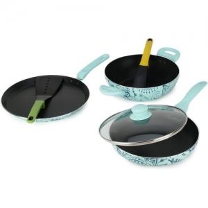 Wonderchef Oscar Blu Doppio Cookware Set(PTFE (Non-stick), 4 - Piece)