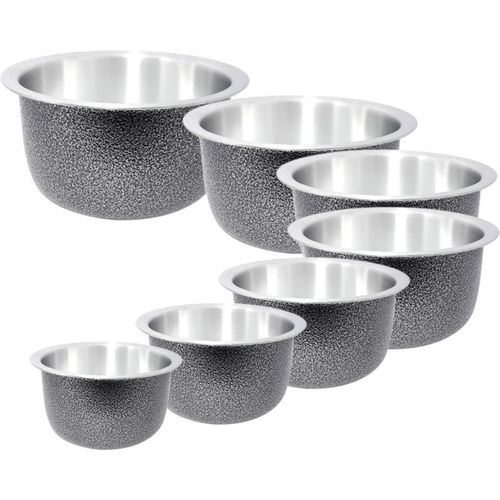 bartan hub Patila/Bhagona set Cookware Set(Aluminium, 7 - Piece)