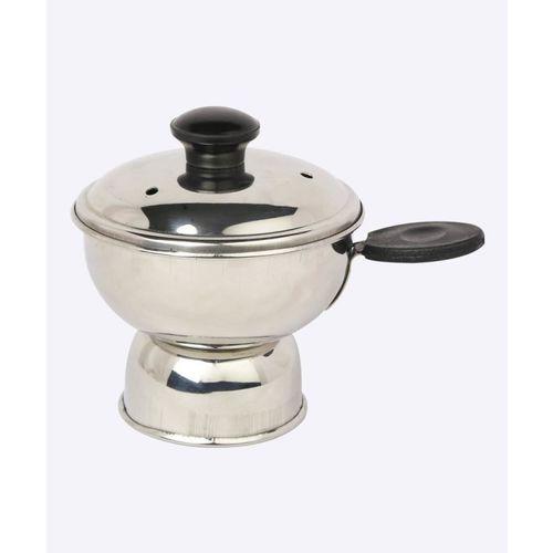 Spiti Chiratta Puttu Maker Stainless Steel Steamer(0.2 L)
