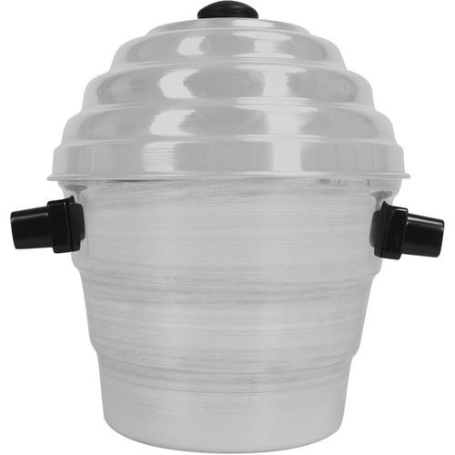 Arihant's Arihant's Aluminium Idli,Dhokla Maker(1 Pot, 1 Lid, 4 Idli Plates, 2 Dhokla Plates) Standard Idli Maker(4 Plates , 15 Idlis )