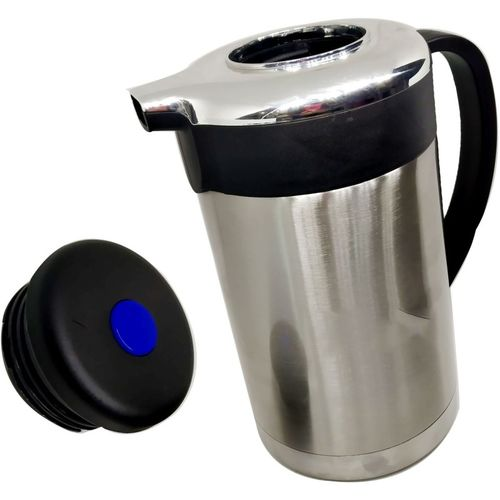 Megalite GOOD quality attractive designs Stainless Thermo Steel Double-Wall Vacuum Insulated Thermo Jug Hot Water Bottle Coffee,Tea, Beverage Coffee Pot, Jug