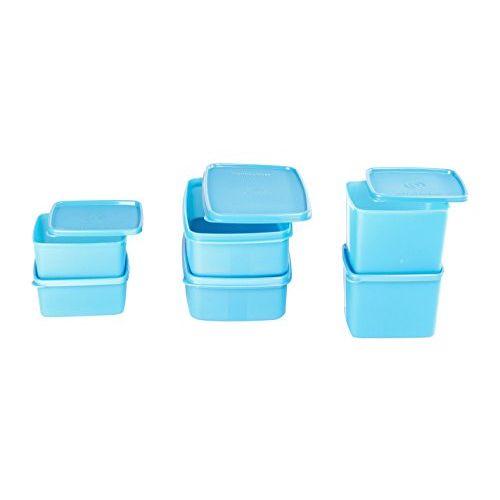 Signoraware Smart Plastic Fridge Container Set, 6-Pieces