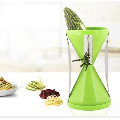 Floraware Spiral Green Color Vegetable & Fruit Slicer(1 Slicer)